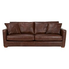Buy John Lewis Baxter Grand Leather Sofa, Antique Cigar from our Sofas & Sofa Beds range at John Lewis & Partners. Scatter Cushions, Seat Cushions, Sofa Bed, Couch, Antique Sofa, Leather Sofa, Cigars, John Lewis, Antiques