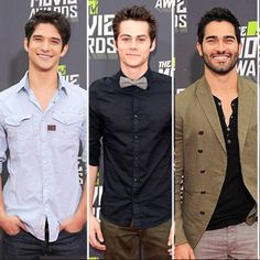 Tyler Posey, Dylan O'Brien and Tyler Hoechlin