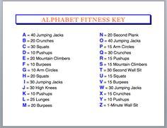 November's Alphabet Fitness Challenge – Keeping Kids in Motion