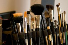 new make-up brushes DONE!