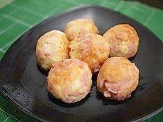 「はなまるで紹介!魚肉のフワフワボール」2011.9.6 TBSはなまるマーケットに出演しました。番組で好評だったメニューです。魚肉もはんぺんも味がついているので胡椒のみで美味しく出来ます!【楽天レシピ】
