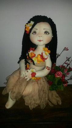 Boneca Havaiana Debutante