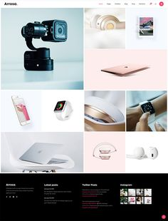 Create your online store in no time with a brand new WordPress theme. Creative Portfolio, Ux Design, All Modern, Creative Business, Wordpress Theme, Digital Camera, Meet, Colorful, Create