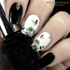 Nail Art By Belegwen: A England Camelot and Gina Tricot White