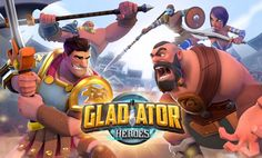 """Check out this @Behance project: """"Gladiator Heroes"""" https://www.behance.net/gallery/45985989/Gladiator-Heroes"""