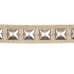 Collection: Embroidered And Woven Tapes TrimmingsWidth: inContent: Fibranne Rayon PolyesterColor: Taupe / Tan Linen Curtain Trim, Taupe, Beige, Decorative Trim, Collection, Products, Ash Beige, Gadget