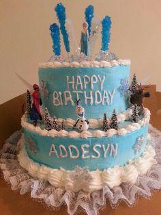 Elsa Cake Love The Rock Candy Idea Frozen Frozen