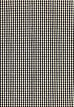 Fabric | Barnet Cotton Check in Ebony | Schumacher