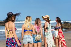 Thinking about planning a beach bachelorette party? make sure you read our latest article and make it amazing! Bachelorette Party Food, Beach Bachelorette, Bachelor Party Games, Beach Fun, Maid Of Honor, Bikinis, Swimwear, Bridesmaids, Cover Up