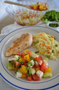 Cocina – Recetas y Consejos Healthy Recepies, Healthy Dishes, Healthy Snacks, Healthy Eating, Low Carb Meal, Healthy Meal Prep, Comidas Fitness, Aesthetic Food, Food Presentation