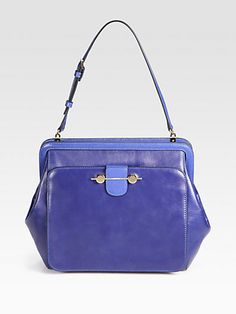 Jason Wu - Saffiano Leather Accented Satchel - Saks.com