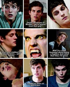 Isaac Lahey i miss him season 4 is so weird since he's not there
