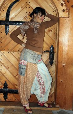 Yoga harem pants gypsy boho