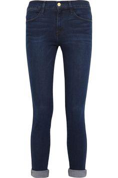 Frame Denim|Le High Skinny Crop mid-rise jeans|NET-A-PORTER.COM