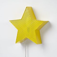 We thought it was time to give the iconic star and heart the kudos they deserved.  That's why we've immortalized them in these charming, metal nightlights.  Hang on a wall or set it on a dresser as a decorative accent.