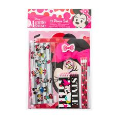 Disney Minnie Mouse 11 Piece Stationery Set