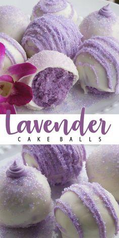 Purple Cake Pops, Purple Cakes, Baking Recipes, Cookie Recipes, Dessert Recipes, Just Desserts, Delicious Desserts, Yummy Food, Purple Desserts