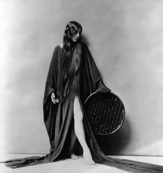 long hair Olive Ann Alcorn 1925 Silent Movie Actress late 1910s early 1920s