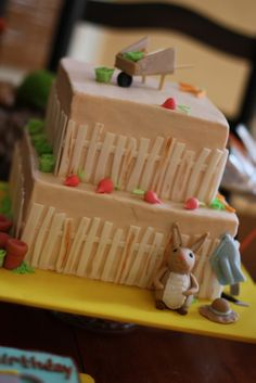 CAKE.   events + design: real parties: the tale of peter rabbit