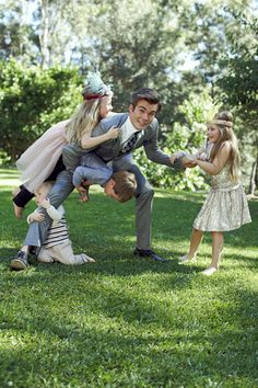 The perfect groom loves kids.