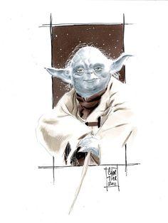 Master Yoda by ~idirt