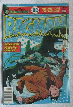 Ragman #2 (Oct-Nov 1976, DC) Joe Kubert art F/VF 7.0