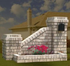 brick mailboxes u0026 planters masonry contractors brick masonry mailboxes
