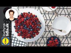 Nepečený ovocný cheesecake - Adriana Poláková - recepty kuchynalidla.sk - YouTube Cheesecake, Lidl, Catering, Raspberry, Fruit, Breakfast, Youtube, Cakes, Mascarpone