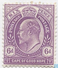 1903 Cape of Good Hope - Edward VII Union Of South Africa, St Helena, King George, Afrikaans, West Africa, Stamp Collecting, Postage Stamps, Cape, Poster