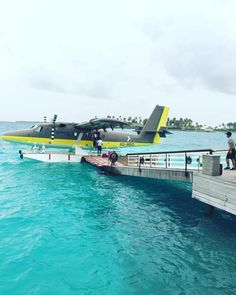 Arriving in style on seaplane @chevalblancrandheli #maldives #maldivesresort #maldivesresorts #maldivesislands #maldivesbeach - maldives pics | Only Maldives