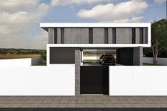 Magnific Home :: Projeto Rubi Portugal, Garage Doors, House Design, Outdoor Decor, Home Decor, Luxury Dream Homes, Minimal Design, Tiny Houses, Facades