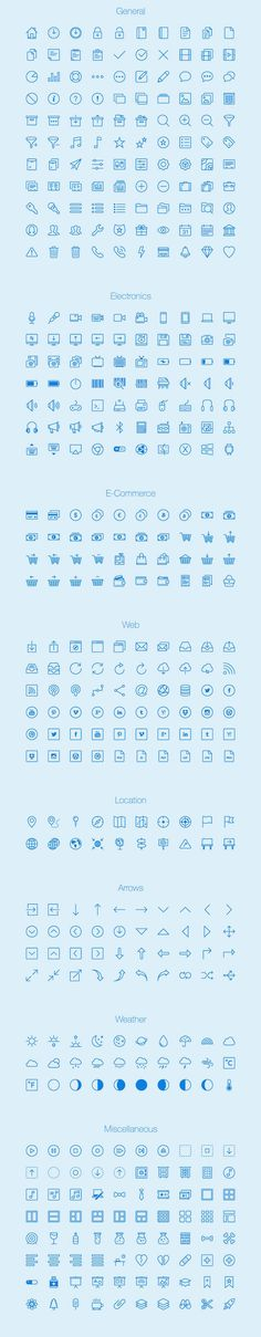 세련된 450개 아웃라인 무료 아이콘 세트 Lynny :: 디자인 로그(DESIGN LOG)