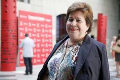 """María Luisa Cava de Llano. Defensora del Pueblo en funciones. En el curso: """"Ética, credibilidad y confianza en los medios de comunicación del S. XXI"""""""