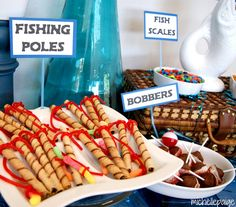 michelle paige:not only great for a fishing party, but it has much, much more