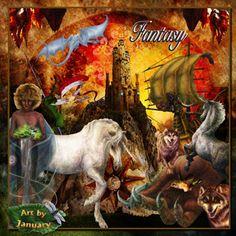 Fantasy by Art by January
