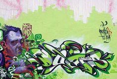 By @digitaldoes and @mr_aryz #graffiti #aryz #does