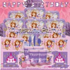 Sofia the First Prestige Party Pack