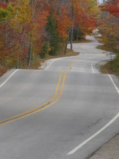 I am Door County, Wisconsin... This is actually my hubby's favorite road (it leads to the Washington Island Ferry)