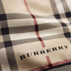 "Vintage Silk Check Scarf Gorgeous and super soft vintage Burberry scarf in excellent condition. 100% Silk. Authentic. 18"" by 18"". Kept in a plastic ziplock bag for protection. Offers always encouraged! Burberry Accessories Scarves & Wraps"