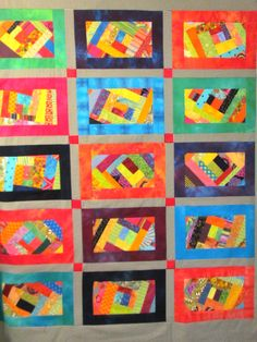 Inspired by Dianne Springer's book Scrap-o-lator Quilts