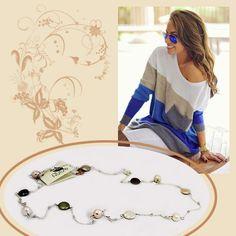 #Collana Lunga Perle di Fiume