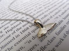 Whale Tail Necklace // Whale Jewelry // Ocean Jewelry // Boyfriend Girlfriend // Ocean // Whale Watching // Nature on Etsy, $19.63