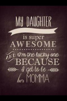 Beautiful Mother Daughter Quote Love You Kara Kristy