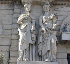 Cariatides à Montpellier