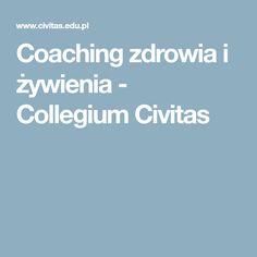 Coaching zdrowia i żywienia - Collegium Civitas
