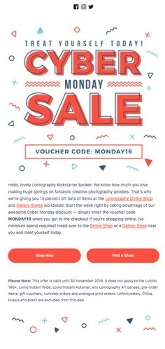 c060733770 14 ridiculously good emails from Cyber Monday 2016 Emma Email Marketing