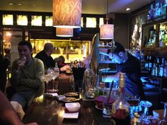 a photo of ginbo cocktail bar interior