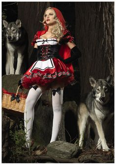 Divine Red Riding Hood costume .. possible costume for Kimberly