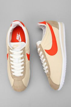 Nike Classic Cortez Sneaker.  1972 redesign. FOUND THEM & LOVE THEM !