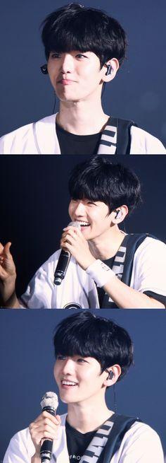 Baekhyun & his bright smile © MIBAEK_56